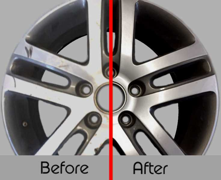 Alloy Wheel refurbishment - Before & After