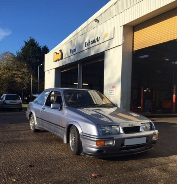 Ford Sierra RS500 | Bush Tyres