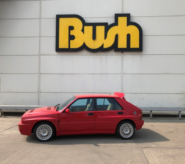 Lancia Delta HF Intergrale at Bush Tyres Scunthorpe