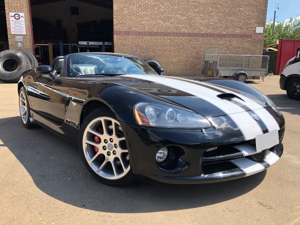 Dodge Viper SRT10 on Michelin Super Sport tyres - Abbey Tyre Co | Bush Tyres