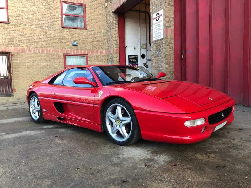 Ferrari F355 Berlinetta - Abbey Tyre Cambridge