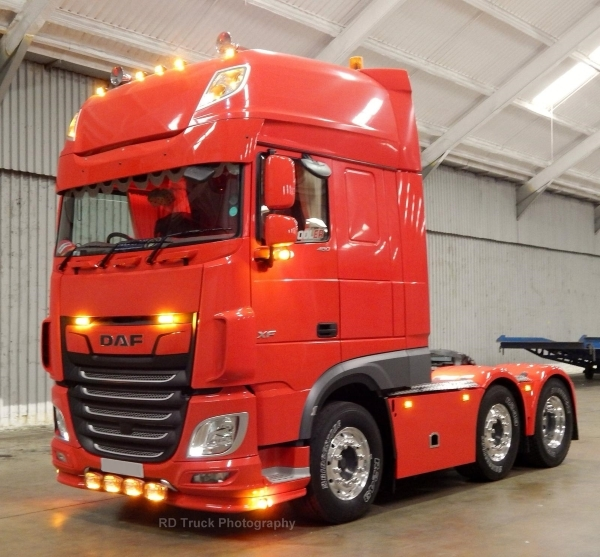 DAF XF | PD Truck Photography | Bush Tyres