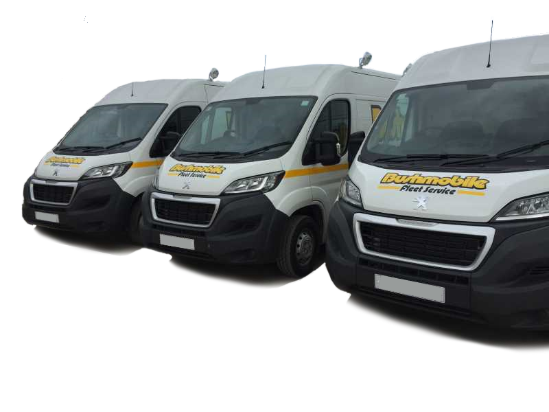 Bush Tyres mobile fleet