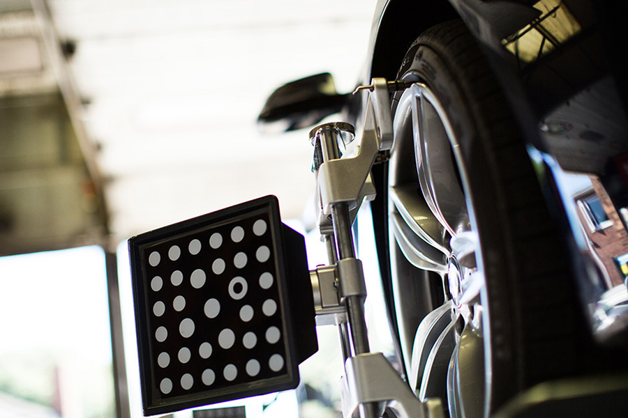Wheel Alignment at Bush Tyres
