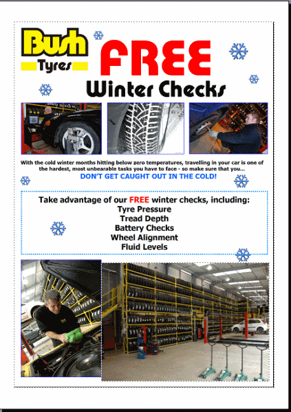 The Importance Of Winter Tyres - Bush Tyres
