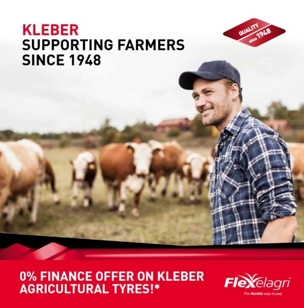 0% Finance offer on Kleber agricultural tyres | Bush Tyres