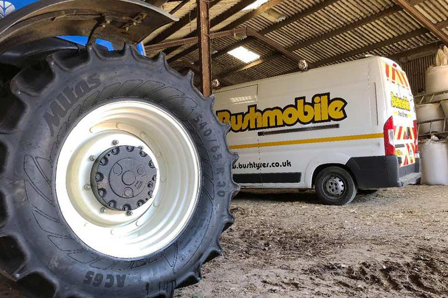 Bushmobile Service Vehicle | Bush Tyres
