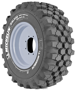 Michelin Bibload Hard Surface Tyre | Bush Tyres
