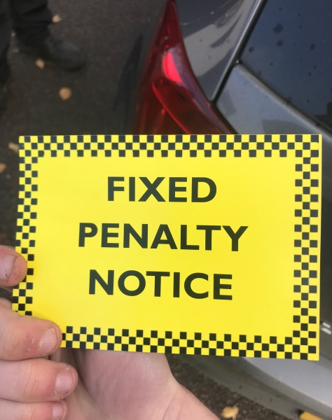 Police Fixed Penalty Notice