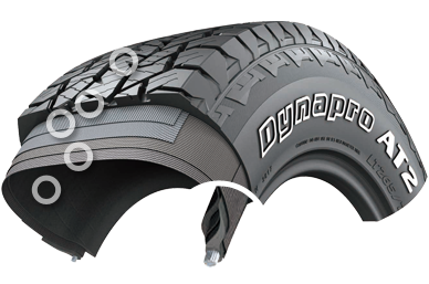 Hankook Dynapro AT2 (RF11) design features | Bush Tyres