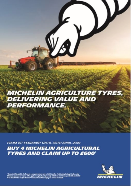 Bush Tyres - Michelin Agricultural Tyre Offer