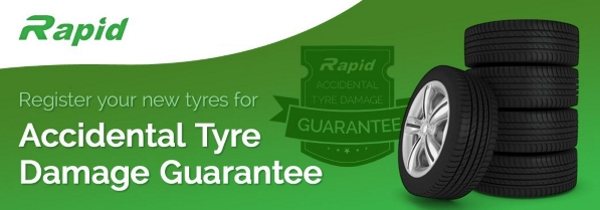 Rapid Accidental Damage Warranty | Bush Tyres | Click to submit your warranty form