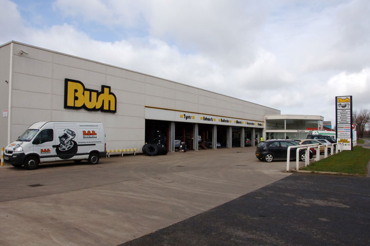 Bush Tyres in Scunthorpe Bush Tyres