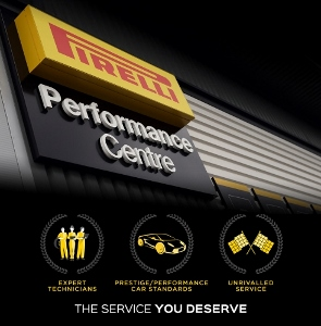 Bush Tyres Pirelli Performance Centres